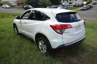 2015 Honda HR-V MY15 VTi White 1 Speed Constant Variable Hatchback.