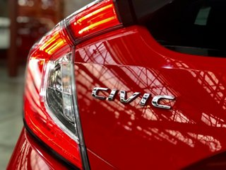 2017 Honda Civic 10th Gen MY17 RS Red 1 Speed Constant Variable Hatchback