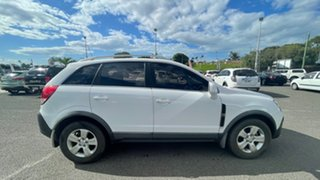 2009 Holden Captiva CG MY10 5 White 5 Speed Manual Wagon.