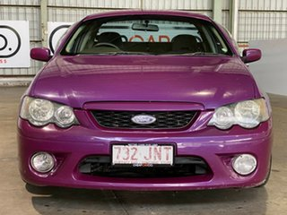 2006 Ford Falcon BF XR6 Ute Super Cab Purple 4 Speed Sports Automatic Utility