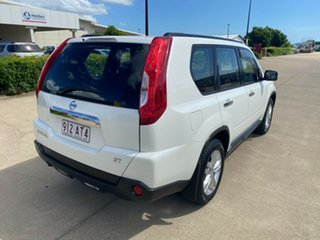 2013 Nissan X-Trail T31 Series V ST 2WD White/310819 6 Speed Manual Wagon.