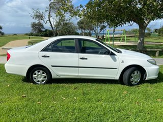 2002 Toyota Camry ACV36R Altise White 4 Speed Automatic Sedan.