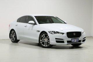 2016 Jaguar XE Prestige White 8 Speed Automatic Sedan.