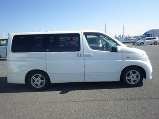 2002 Nissan Elgrand NE51 Highwaystar White Automatic Wagon
