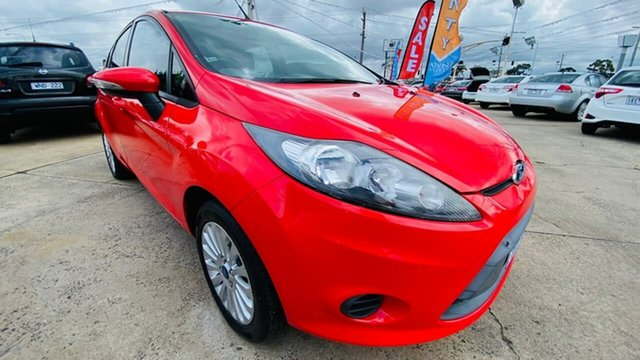 Used Ford Fiesta WT LX PwrShift Maidstone, 2011 Ford Fiesta WT LX PwrShift 6 Speed Sports Automatic Dual Clutch Hatchback
