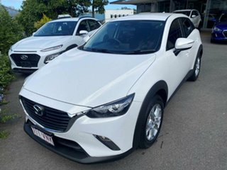 2015 Mazda CX-3 DK4W7A Maxx SKYACTIV-Drive i-ACTIV AWD Crystal White Pearl 6 Speed Sports Automatic.