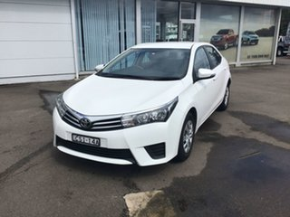 2014 Toyota Corolla ZRE172R SX S-CVT White 7 Speed Constant Variable Sedan.