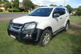 2014 Isuzu MU-X MY14 LS-T Rev-Tronic White 5 Speed Sports Automatic Wagon.