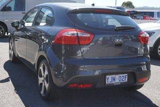 2012 Kia Rio UB MY12 SLi Grey 6 Speed Manual Hatchback