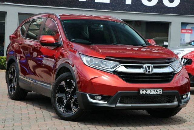 Used Honda CR-V RW MY18 VTi-S FWD Parramatta, 2018 Honda CR-V RW MY18 VTi-S FWD Red 1 Speed Constant Variable Wagon