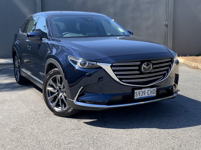 Demo Mazda CX-9 TC Azami SKYACTIV-Drive i-ACTIV AWD Hindmarsh, 2020 Mazda CX-9 TC Azami SKYACTIV-Drive i-ACTIV AWD Deep Crystal Blue 6 Speed Sports Automatic Wagon