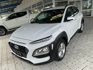 2018 Hyundai Kona Active White Sports Automatic Wagon.