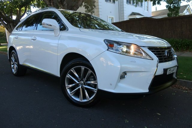 Used Lexus RX GGL15R RX350 Sports Luxury Prospect, 2013 Lexus RX GGL15R RX350 Sports Luxury White 6 Speed Sports Automatic Wagon