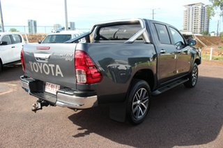 2017 Toyota Hilux GUN126R SR5 Double Cab Graphite 6 Speed Sports Automatic Utility