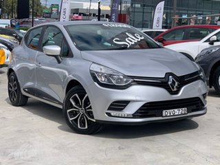 2018 Renault Clio IV B98 Phase 2 Life EDC Silver 6 Speed Sports Automatic Dual Clutch Hatchback.