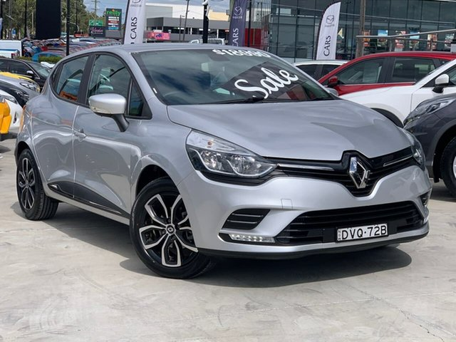Used Renault Clio IV B98 Phase 2 Life EDC Liverpool, 2018 Renault Clio IV B98 Phase 2 Life EDC Silver 6 Speed Sports Automatic Dual Clutch Hatchback