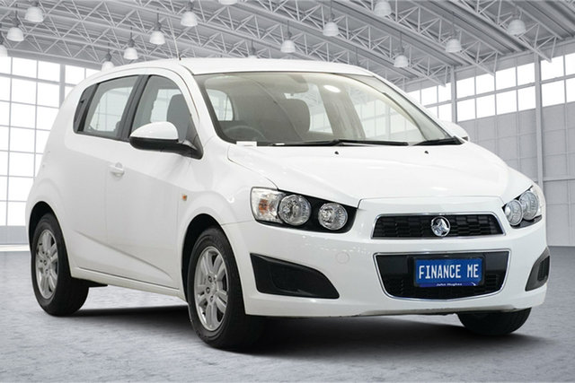 Used Holden Barina TM MY13 CD Victoria Park, 2012 Holden Barina TM MY13 CD White 6 Speed Automatic Hatchback