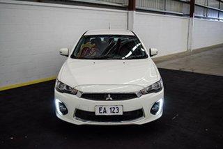 2016 Mitsubishi Lancer CF MY17 ES Sport White 6 Speed Constant Variable Sedan.