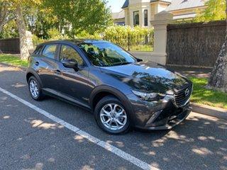 2016 Mazda CX-3 DK2W7A Maxx SKYACTIV-Drive Silver 6 Speed Sports Automatic Wagon.