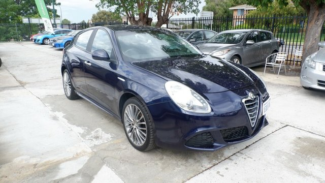 Used Alfa Romeo Giulietta Series 0 MY13 Progression TCT JTD-M St James, 2014 Alfa Romeo Giulietta Series 0 MY13 Progression TCT JTD-M Blue 6 Speed