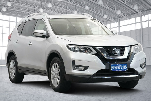 Used Nissan X-Trail T32 Series II ST-L X-tronic 2WD Victoria Park, 2017 Nissan X-Trail T32 Series II ST-L X-tronic 2WD Silver 7 Speed Constant Variable Wagon
