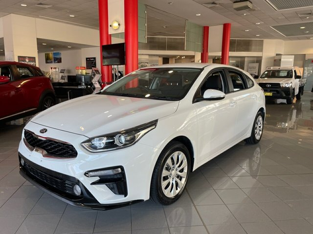 Used Kia Cerato BD MY20 S Artarmon, 2020 Kia Cerato BD MY20 S White 6 Speed Sports Automatic Hatchback