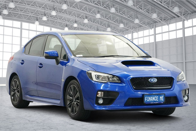 Used Subaru WRX V1 MY15 Premium Lineartronic AWD Victoria Park, 2014 Subaru WRX V1 MY15 Premium Lineartronic AWD Blue 8 Speed Constant Variable Sedan