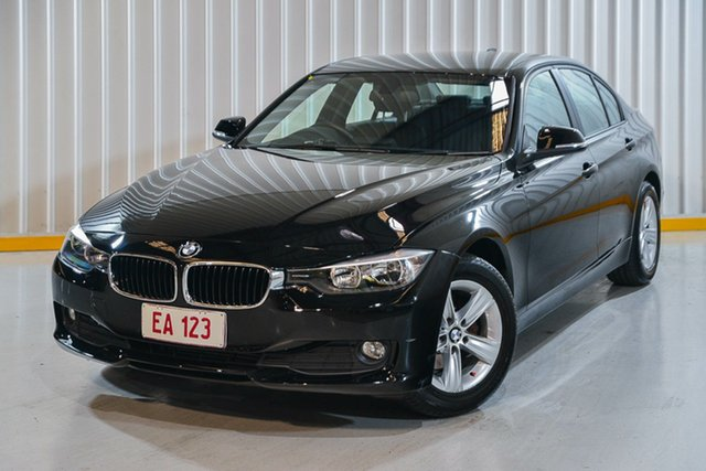 Used BMW 316i F30 Hendra, 2013 BMW 316i F30 Black 8 Speed Automatic Sedan