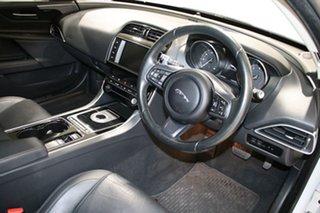 2016 Jaguar XE Prestige White 8 Speed Automatic Sedan