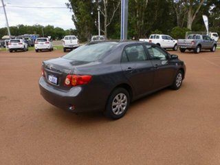 2009 Toyota Corolla ZRE152R MY09 Ascent Graphite 6 Speed Manual Sedan