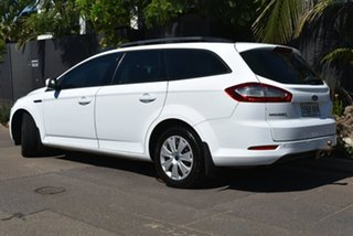 2010 Ford Mondeo MB MY11 LX PwrShift TDCi White 6 Speed Sports Automatic Dual Clutch Wagon.