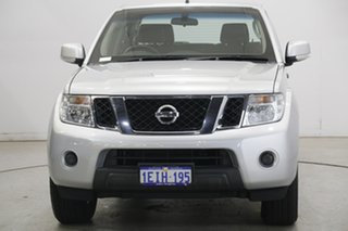 2013 Nissan Navara D40 S6 MY12 ST Silver 5 Speed Sports Automatic Utility.