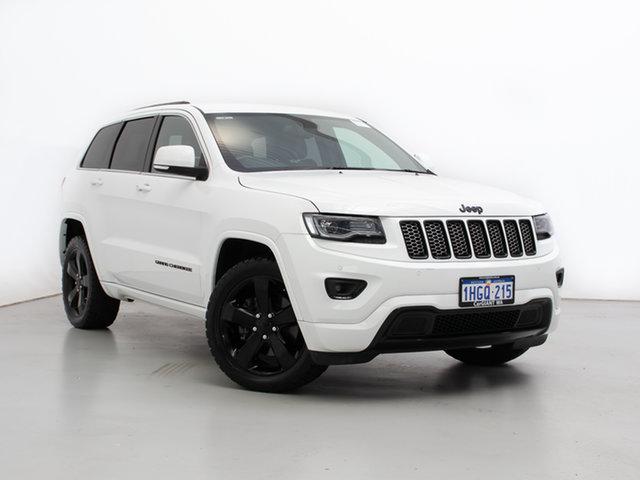 Used Jeep Grand Cherokee WK MY14 Blackhawk (4x4), 2014 Jeep Grand Cherokee WK MY14 Blackhawk (4x4) White 8 Speed Automatic Wagon