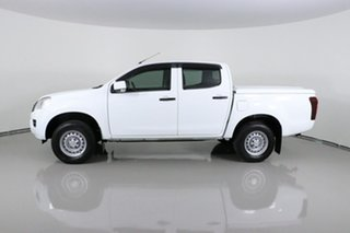 2016 Isuzu D-MAX TF MY15 SX HI-Ride (4x2) White 5 Speed Automatic Crew Cab Utility