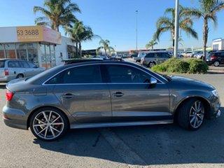 2016 Audi S3 8V MY17 2.0 TFSI S Tronic Quattro Grey 6 Speed Manual Sedan