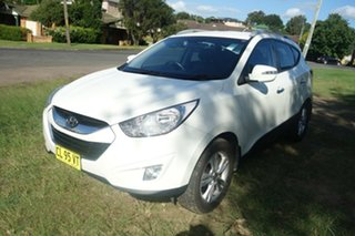 2012 Hyundai ix35 LM2 Elite AWD White 6 Speed Sports Automatic Wagon.