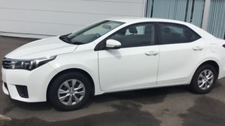 2014 Toyota Corolla ZRE172R SX S-CVT White 7 Speed Constant Variable Sedan