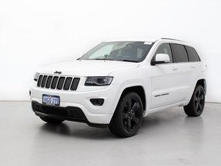 2014 Jeep Grand Cherokee WK MY14 Blackhawk (4x4) White 8 Speed Automatic Wagon.