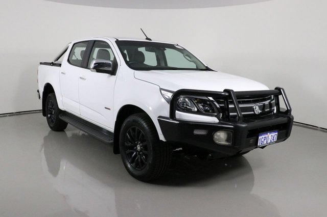 Used Holden Colorado RG MY17 LT (4x4) Bentley, 2017 Holden Colorado RG MY17 LT (4x4) White 6 Speed Automatic Crew Cab Pickup