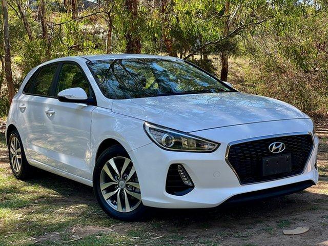 Used Hyundai i30 PD MY18 Active Reynella, 2017 Hyundai i30 PD MY18 Active Polar White 6 Speed Sports Automatic Hatchback