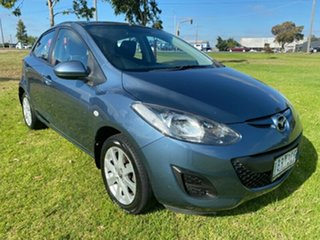 2014 Mazda 2 DE10Y2 MY14 Neo Sport Blue 5 Speed Manual Hatchback.
