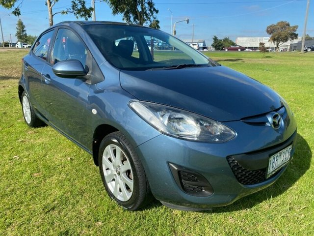 Used Mazda 2 DE10Y2 MY14 Neo Sport Melton, 2014 Mazda 2 DE10Y2 MY14 Neo Sport Blue 5 Speed Manual Hatchback