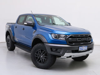 2019 Ford Ranger PX MkIII MY19.75 Raptor 2.0 (4x4) Blue 10 Speed Automatic Double Cab Pick Up