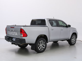 2019 Toyota Hilux GUN126R MY19 SR5 (4x4) Silver 6 Speed Automatic Double Cab Pick Up