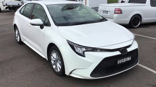 2019 Toyota Corolla Mzea12R Ascent Sport Glacier White 10 Speed Constant Variable Sedan