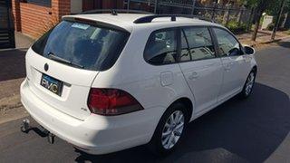 2012 Volkswagen Golf 1K MY12 118 TSI Comfortline White 7 Speed Auto Direct Shift Wagon
