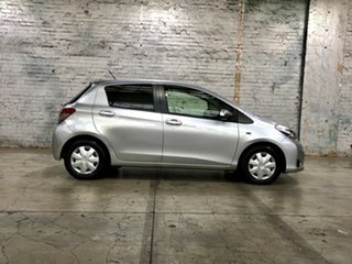 2013 Toyota Yaris NCP130R YR Silver 4 Speed Automatic Hatchback