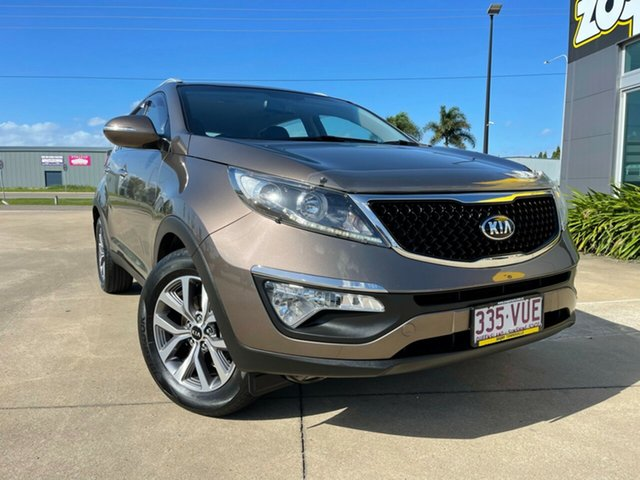 Used Kia Sportage SL MY15 Si 2WD Premium Townsville, 2015 Kia Sportage SL MY15 Si 2WD Premium Brown/300715 6 Speed Sports Automatic Wagon