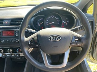 2011 Kia Rio UB MY12 S Silver 6 Speed Manual Hatchback