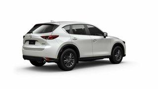 2021 Mazda CX-5 KF2W7A Maxx SKYACTIV-Drive FWD Snowflake White Pearl 6 Speed Sports Automatic Wagon.